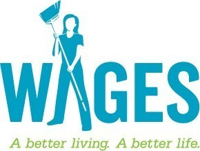 WAGES (Women's Action to Gain Economic Security) Logo