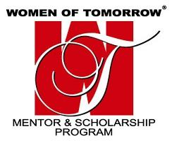 Women of Tomorrow Mentor & Scholarship Program Logo