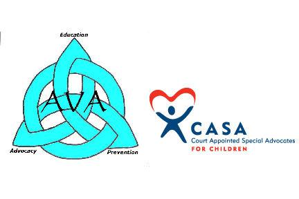 Advocates for Victims of Abuse- Tri-County Court Appointed Special Advocates (AVA-CASA) Logo