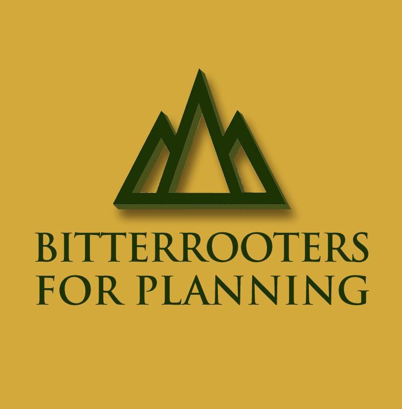 BITTERROOTERS FOR PLANNING Logo