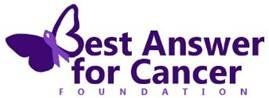 Best Answer for Cancer Foundation Logo