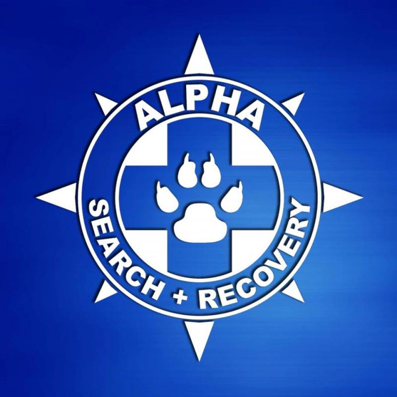 Alpha Search and Recovery Logo