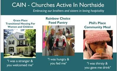 Churches Active in Northside Logo