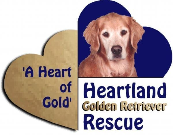 Heartland Golden Retriever Rescue Logo