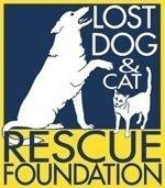 Lost Dog and Cat Rescue Foundation Logo