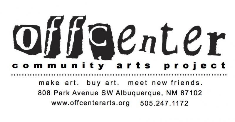 OFFCENTER COMMUNITY ARTS PROJECT Logo