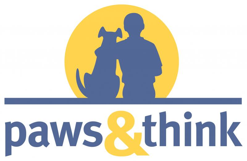 Paws and Think Inc Logo