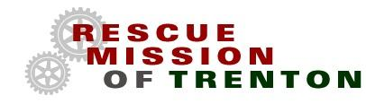 RESCUE MISSION OF TRENTON Logo