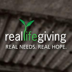 REAL LIFE GIVING Logo