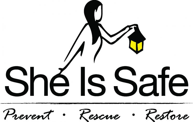 She Is Safe Logo
