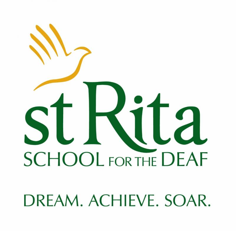 St Rita School for The Deaf Logo