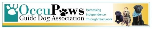 OccuPaws Guide Dog Association Logo