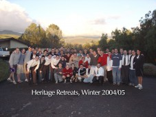 Heritage Retreats Inc dba University Heritage Society