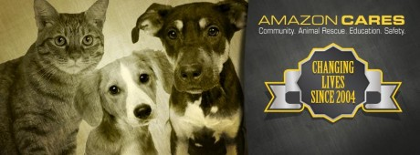 Amazon CARES - Community Animal Rescue, Education and Safety