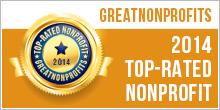 Great Nonprofits Top-Rated Nonprofit Badge