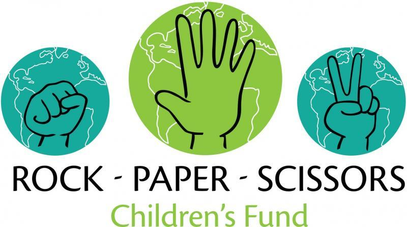 Rock-Paper-Scissors Children's Fund Logo