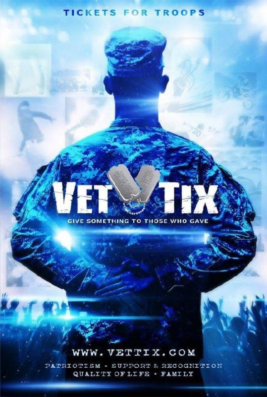 Veteran Tickets Foundation - Vet Tix Logo