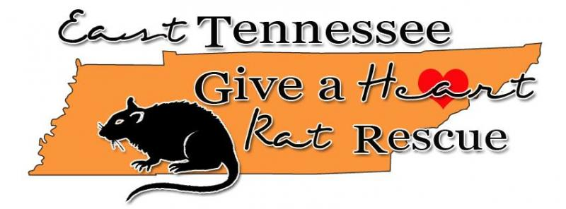 East Tennessee Give A Heart Rat Rescue Logo
