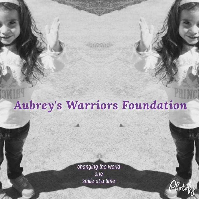 Aubrey's Warriors Foundation Logo
