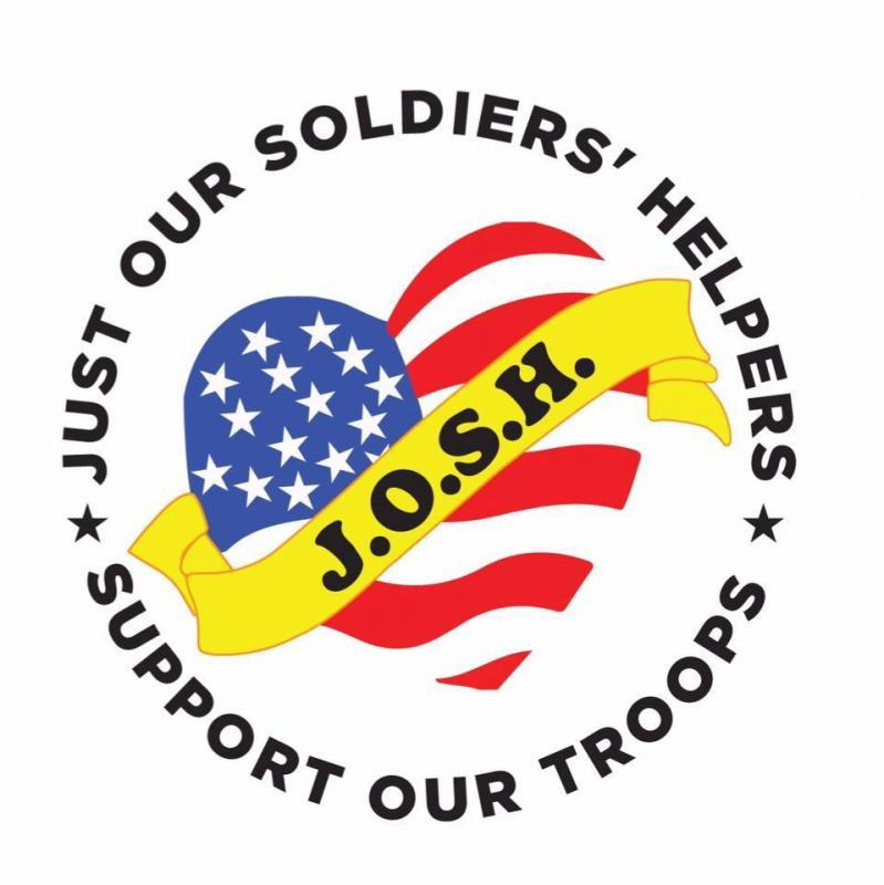 Just Our Soldiers Helpers Inc. (J.O.S.H.) Logo