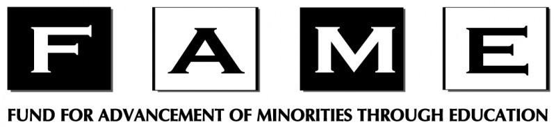 Fund for Advancement of Minorities through Education (FAME) Logo