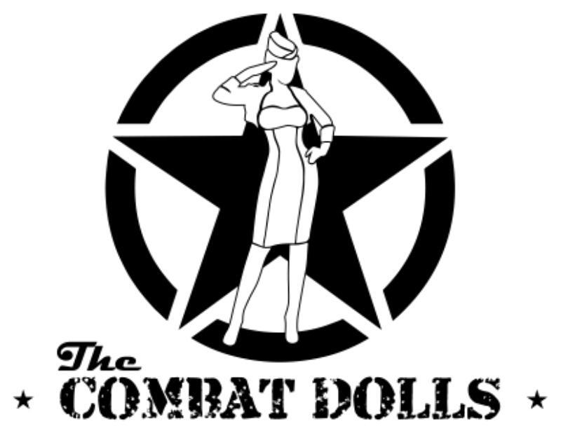 The Combat Dolls Logo
