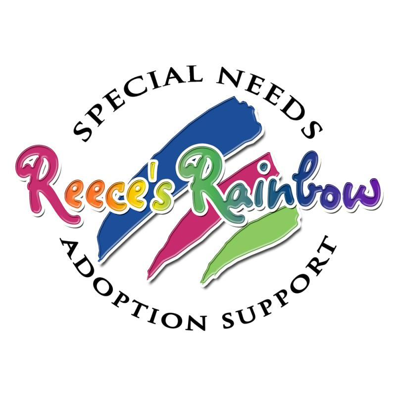 Reece's Rainbow | Special Needs Adoption Support Logo