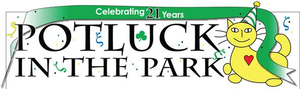 Potluck in the Park Logo