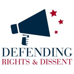 Defending Rights & Dissent Logo