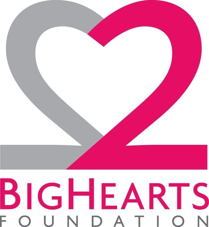 2 BIG HEARTS FOUNDATION Logo
