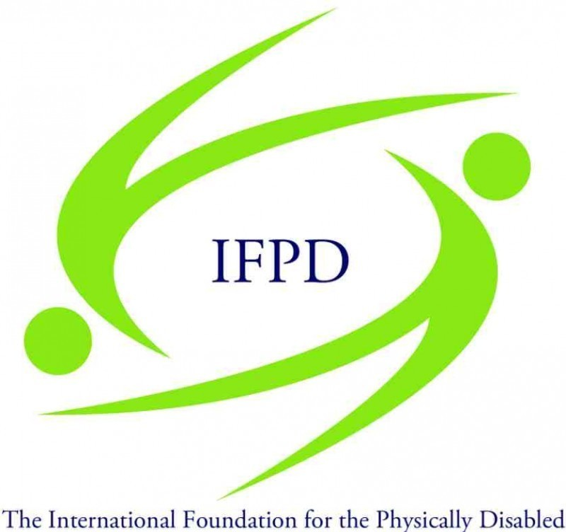 International Foundation for the Physically Disabled Logo