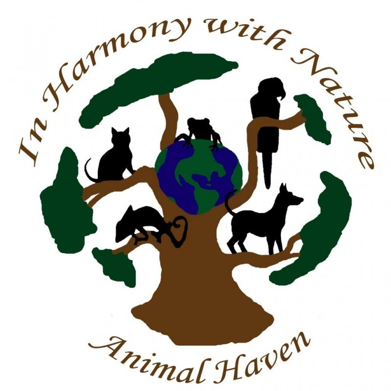 In Harmony With Nature animal haven Logo