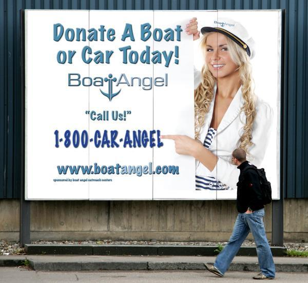 Boat Angel Donation Center Logo
