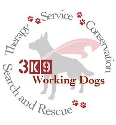 3k9 Working Dogs Inc Logo