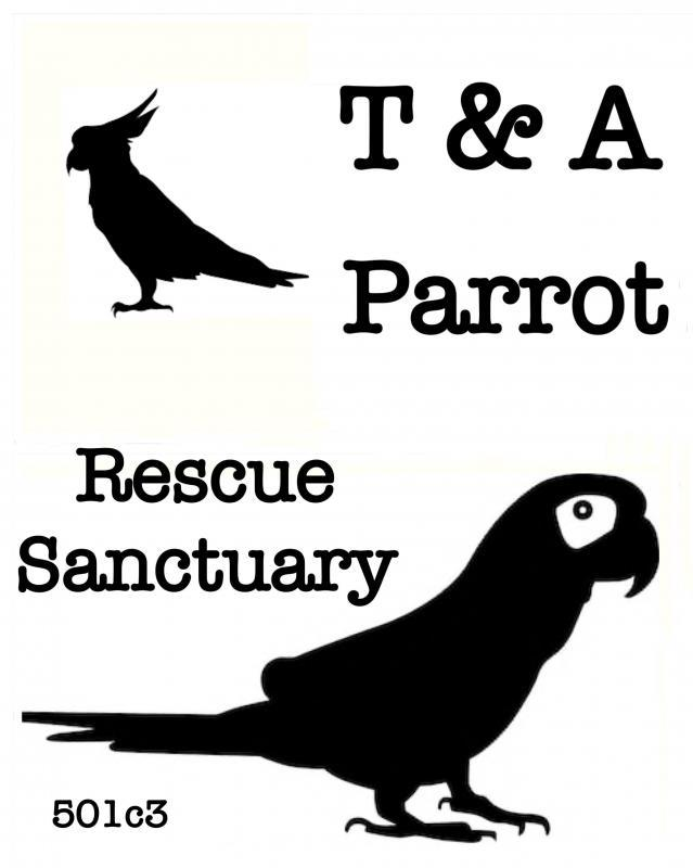 T & A Parrot Rescue and Sanctuary Logo