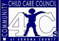 COMMUNITY CHILD CARE COUNCIL OF SONOMA COUNTY INC (4Cs) Logo