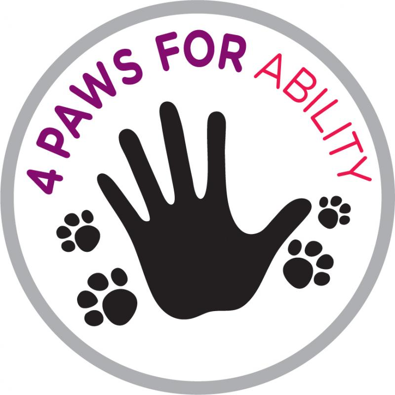 4 Paws For Ability Inc Logo