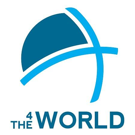 4 THE WORLD Logo