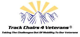 Track Chairs 4 Veterans Logo