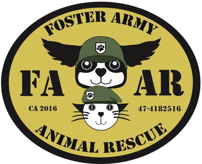 Foster Army Animal Rescue Logo