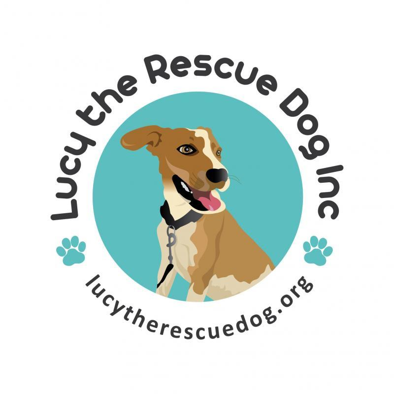 Lucy the Rescue Dog Inc. Logo