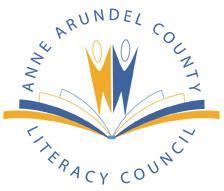 Anne Arundel County Literacy Council, Inc. Logo