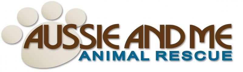 Aussie And Me Animal Rescue Logo