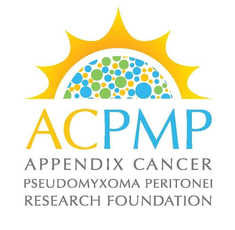 Appendix Cancer / Pseudomyxoma Peritonei Research Foundation (ACPMP) Logo