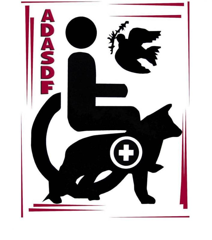 ADASDF (Active Dogs Academy Service Dog Foundation) Logo