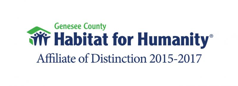 Genesee County Habitat for Humanity Logo