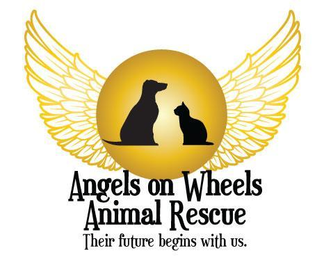 Angels On Wheels Animal Rescue NFP Logo