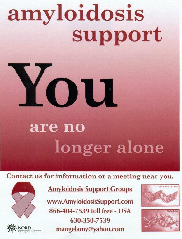 Amyloidosis Support Group, Inc. Logo