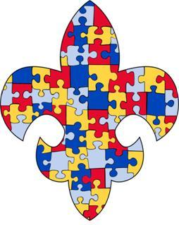 AUTISM SOCIETY OF AMERICA - Greater New Orleans Chapter Logo