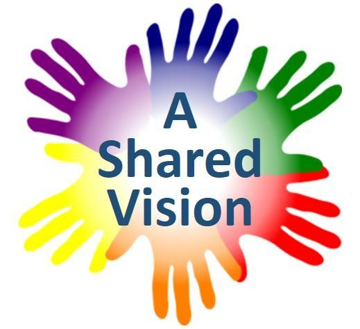 A Shared Vision: Partners in Pediatric Blindness and Visual Impairment Logo